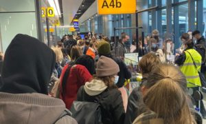 Many Of The International Travelers Had To Wait Nine Days For Quarantine Test Kits In The UK.