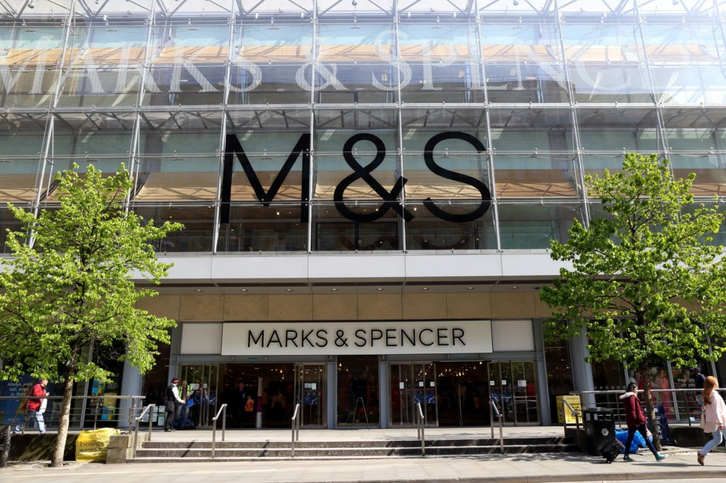 Mark And Spencer Introduce Online Operations In 46 Markets.
