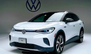 Volkswagen Rises On Electric Vehicles Push.